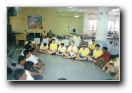 Residents doing meditation - Click to enlarge
