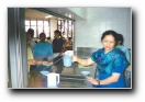 Aunty Rekha serving coffee - Click to enlarge